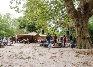 Iedere zondag in de zomer gratis livemuziek in de Tolhuistuin