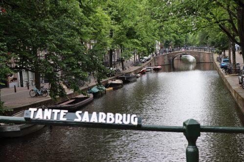 IN beeld: bruggen grachten in Amsterdam