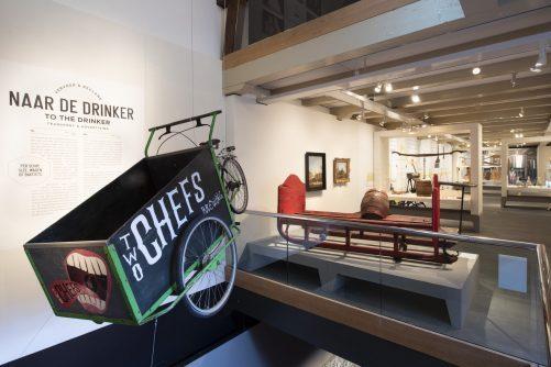 Tentoonstelling Bier. Amsterdam, stad van bier en brouwers. Zaal 3 (3) (c) Amsterdam Museum-min
