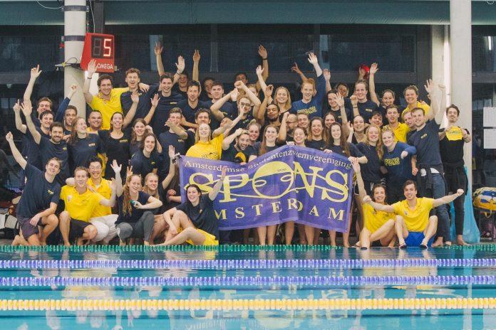 A.S.Z.V. SPONS: 'dé studentenzwemvereniging van Amsterdam'