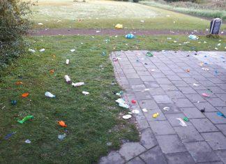 Politie Amstelveen stopt illegaal feest met honderden bezoekers