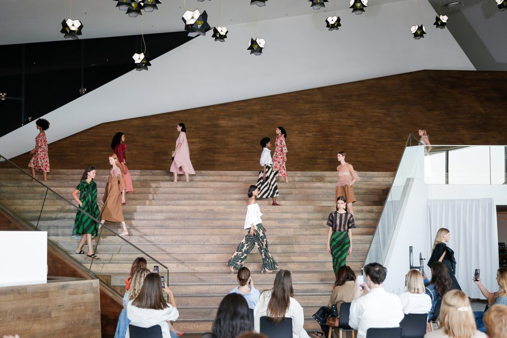 NATAN showt SS21 collectie tijdens Amsterdam Fashion Week