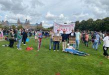 Amsterdamse uitgaansscene voert actie op het Museumplein