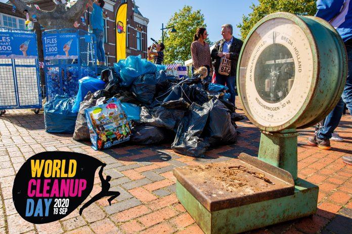 """World Cleanup Day 2020: """"op jacht naar structurele oplossingen voor het zwerfafvalprobleem"""""""