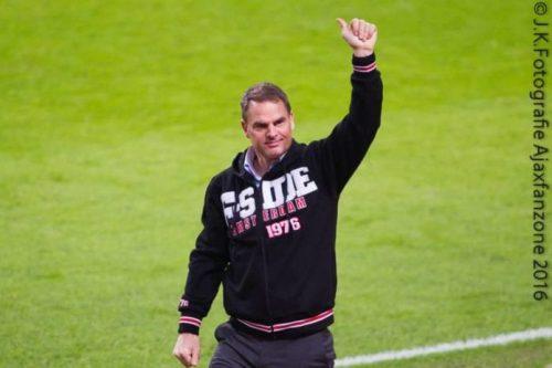Frank de Boer nieuwe bondscoach Nederlands elftal