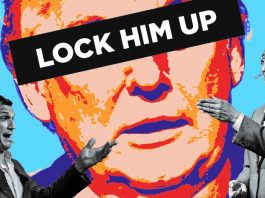 Humor in het kwadraat: Boom Chicago's 'Lock Him Up' is een hilarisch meesterwerk over de Amerikaanse verkiezingssoap