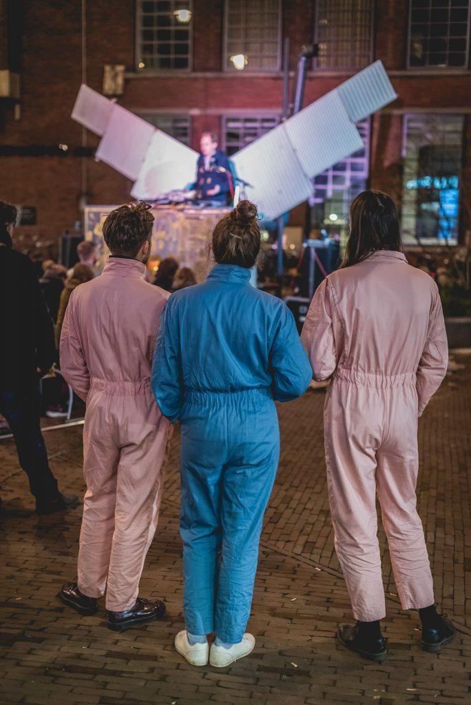 Collectief Walden maakt speciale opwachting tijdens Warming Up Festival