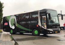 Landskampioen VOC Amsterdam met nieuwe spelersbus naar HV Fortissimo