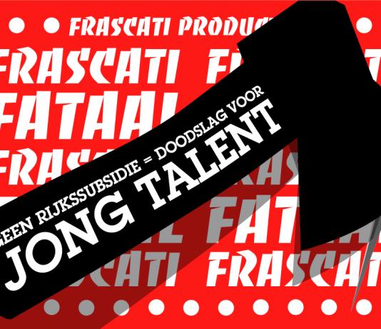 Frascati Producties, huis voor talentontwikkeling, sluit gedwongen de deuren