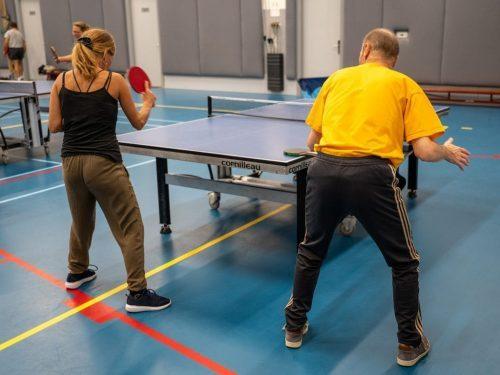 """Tafeltennisvereniging De Volewijckers: """"Spelplezier, gezelligheid en fit blijven"""""""