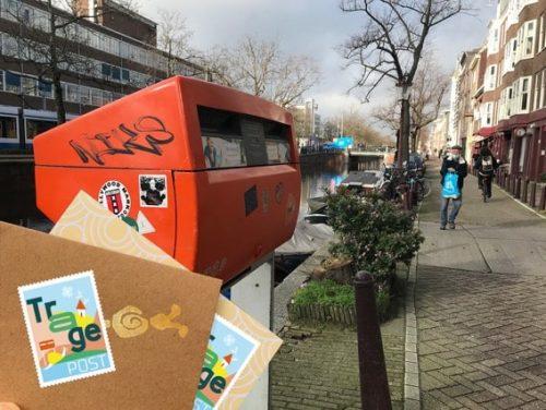Doe jij mee met TragePost Amsterdam?