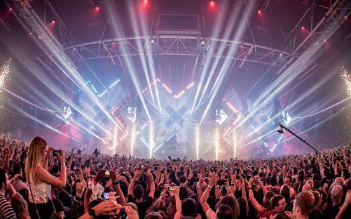 Afrojack, Armin van Buuren, David Guetta, Nicky Romero en Tiësto op fysieke editie AMF 2021