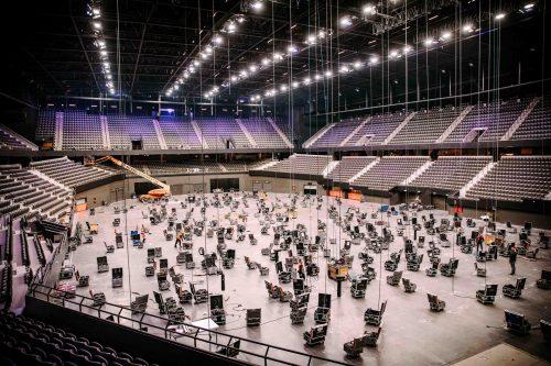 Opbouw Eurovisie Songfestival Ahoy van start