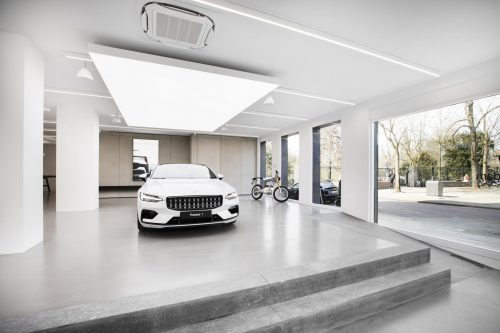 Polestar: hier ervaar je een auto alsof je door een art gallery loopt