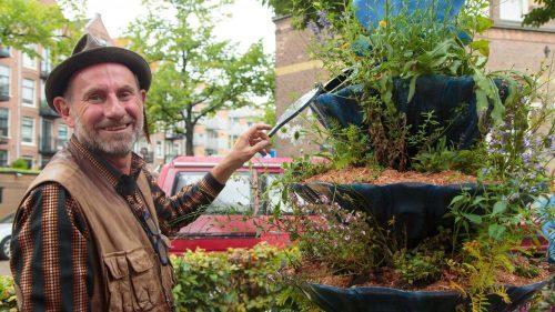 Feestelijke onthulling BeeTotems for RefuBees in Amsterdam West