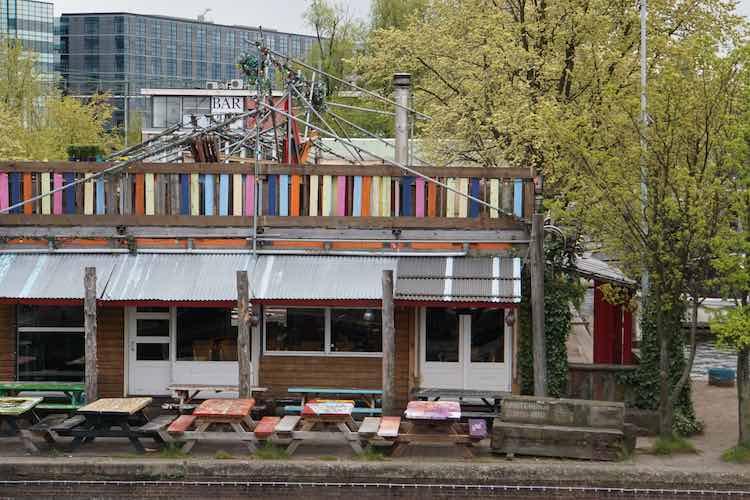 Locatie in Amsterdam: Hannekes Boom