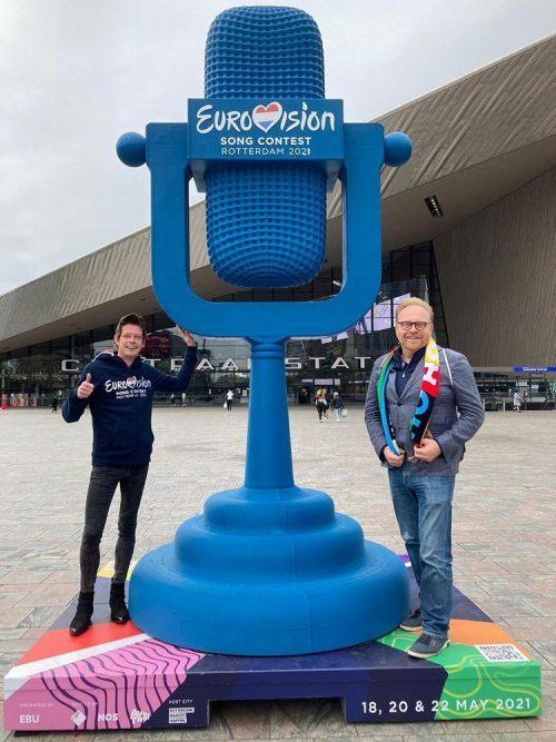 """Sjoerd Knops na tweede halve finale Eurovisie Songfestival: """"Het blijft natuurlijk enig"""""""