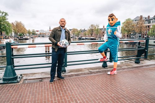 OFFICIËLE BEKER UEFA EURO 2020 IN NEDERLAND