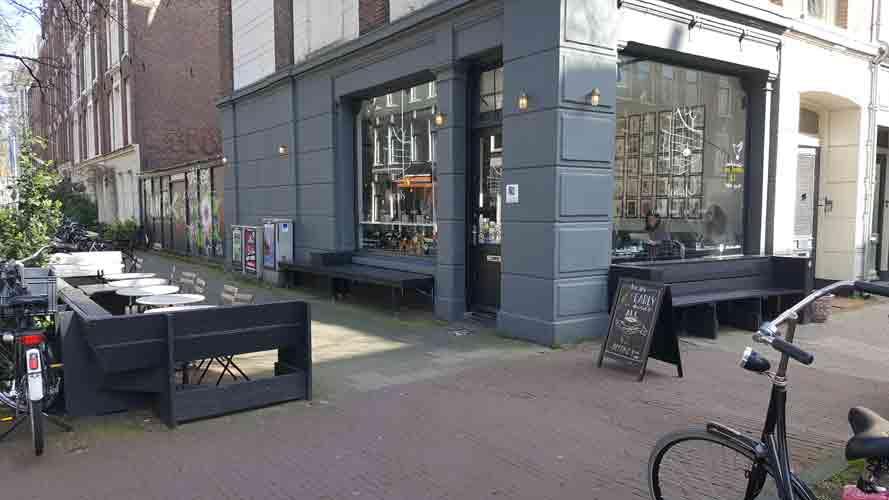 Locatie in Amsterdam - Locals Coffee