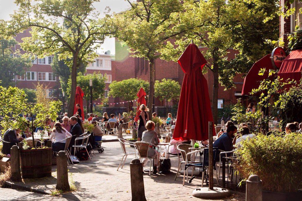 Leuke en gezellige terrassen in Amsterdam West