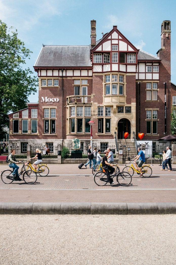 Ben jij weleens in het Moco Museum in Amsterdam geweest?