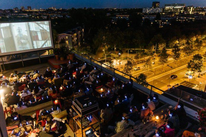 Canvas en LAB111 presenteren tweede editie Rooftop Cinema op de 7e verdieping van Volkshotel