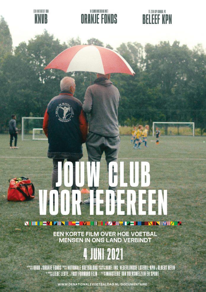 KNVB en Oranje Fonds lanceren documentaire 'Jouw Club voor Iedereen'