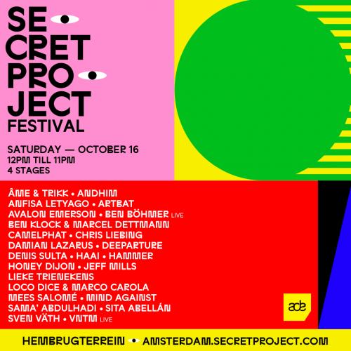 Secret Project komt naar ADE voor eerste Europese editie ooit
