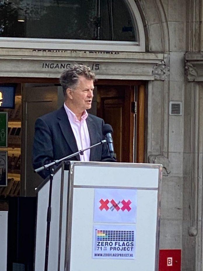 25-jarige Jubileumeditie Pride Amsterdam geopend met ZERO FLAGS PROJECT