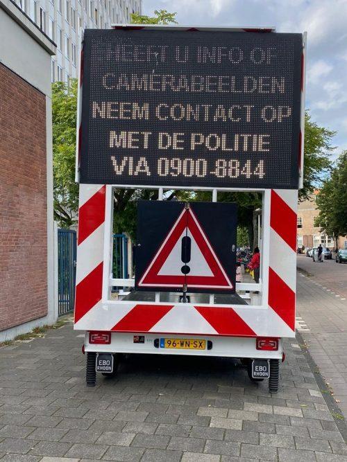 """""""Veiligheid voor iedereen"""", klonk er luid door de straten van Amsterdam-West"""