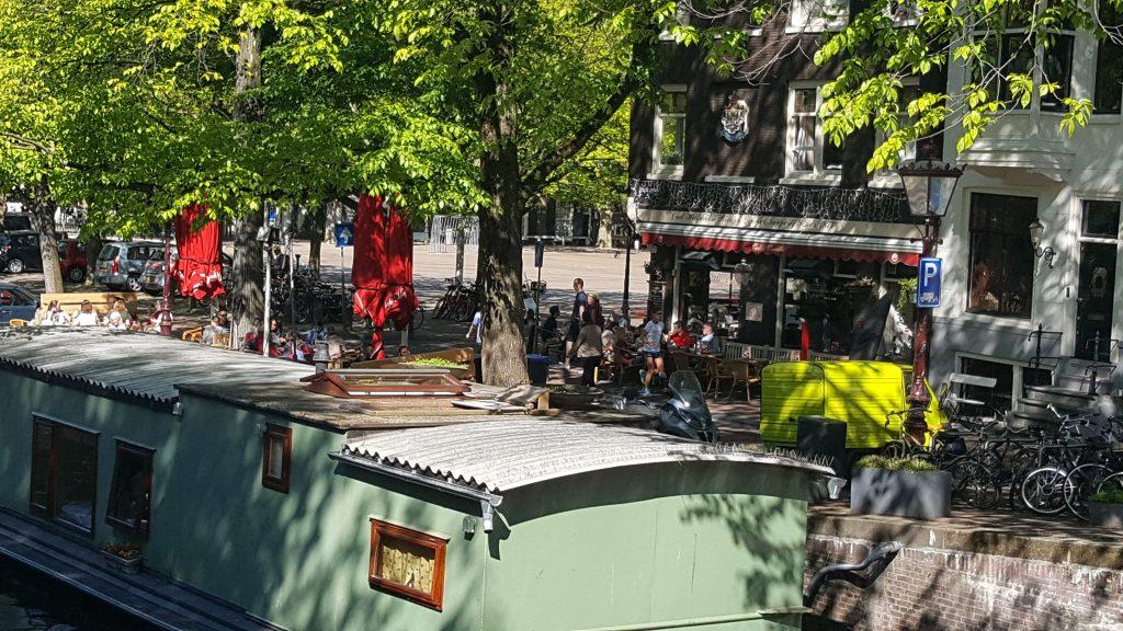 Gezellige en leuke terrassen in Amsterdam