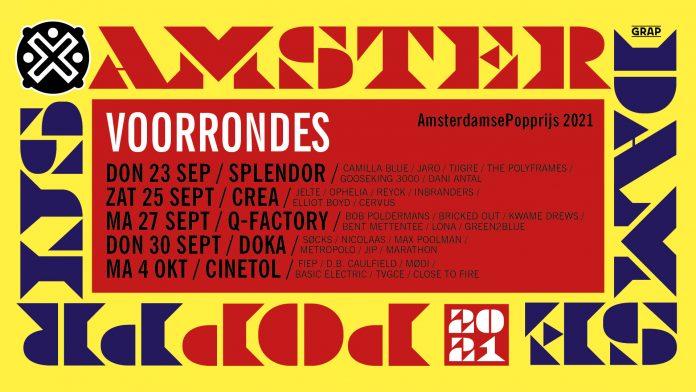 Voorrondes Amsterdamse Popprijs