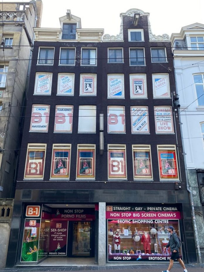 Gay bioscopen in Amsterdam